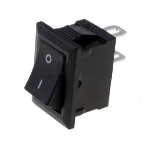 Kolébkový spínač miniaturní 1x spín. ON-OFF 1A černý