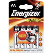 Baterie Energizer Ultra + LR6 (AA) blistr 4ks