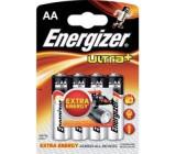 Baterie Energizer Ultra + LR6 (AA) blistr 4ks