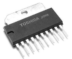 TA7230P Audio zesilovač 2x 4W/4ohm., 20V SIL10