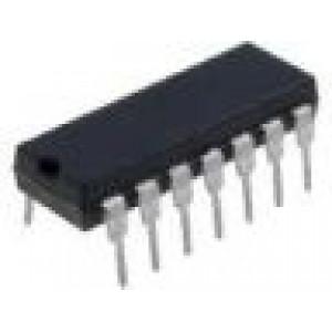 LM348 4xOZ nízkopříkonový DIL14