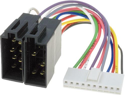 Konektor Iso Pro Autor U00e1dio Kenwood 10 Pin Krc 155 D  Krc 255 D  Krc 953 D